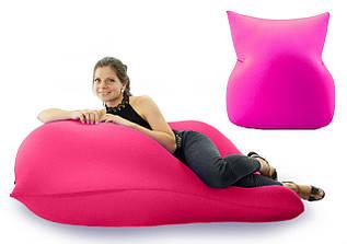 Кресло Бабл гам мешок Boom бескаркасное спандекс, (L, XL, XXL, XXXL), розовое