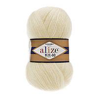 Alize ANGORA REAL 40 кремовый №01