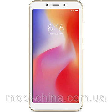 Смартфон Xiaomi Redmi 6 4/64Gb Gold EU, фото 2