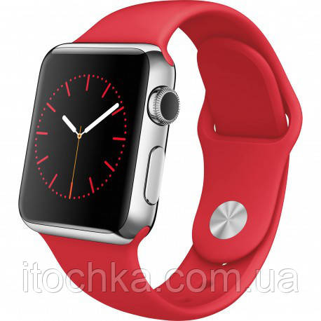 Ремешок Apple Sport Band for Apple Watch 42mm/44mm Red