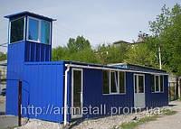 Мобильные здания Днепропетровск, каркасно-модульная технология, заказать в Днепре