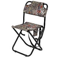 """Крепкий раскладной стул со спинкой """"Богатырь"""", d22 мм, до 140 кг, фото 1"""