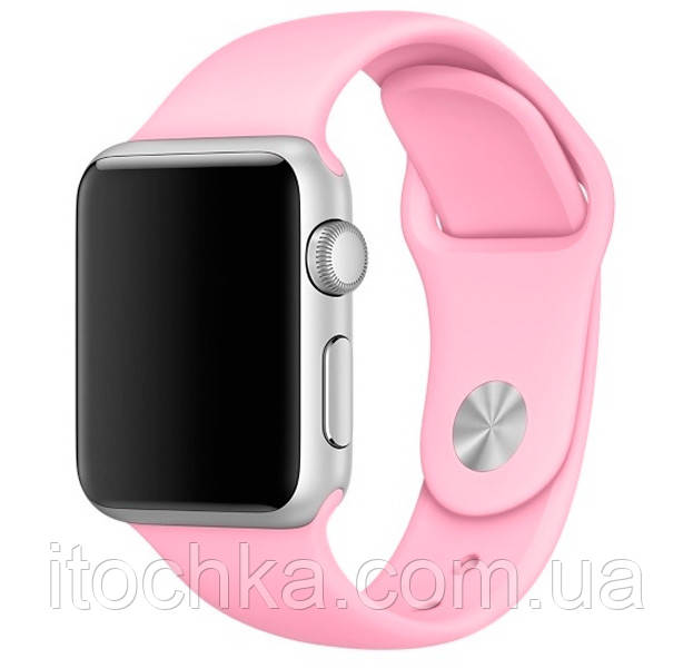 Ремешок Apple Sport Band for Apple Watch 42mm/44mm Pink