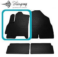 CHERY Tiggo 4 2018- Водительский коврик Черный в салон