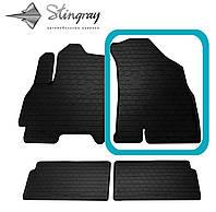 CHERY Tiggo 4 2018- Передний правый коврик Черный в салон