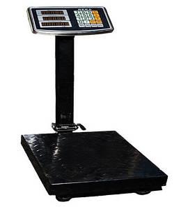 Весы электронные торговые до 300 кг с усиленной платформой 40*50, весы большие промышленные(КонИзмПриб_весы-300-4050)
