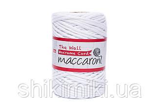 Эко шнур Macrame Cord 3 mm, цвет Белый