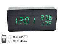 Настольные часы дерево  VST-862S