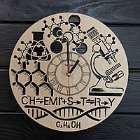 Тематические интерьерные настенные часы «Химия», фото 1