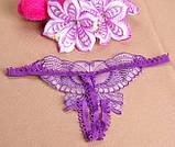 Фиолетовые трусики украшены бабочкой, фото 6