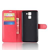 Чехол-книжка Litchie Wallet для Homtom HT30 Красный