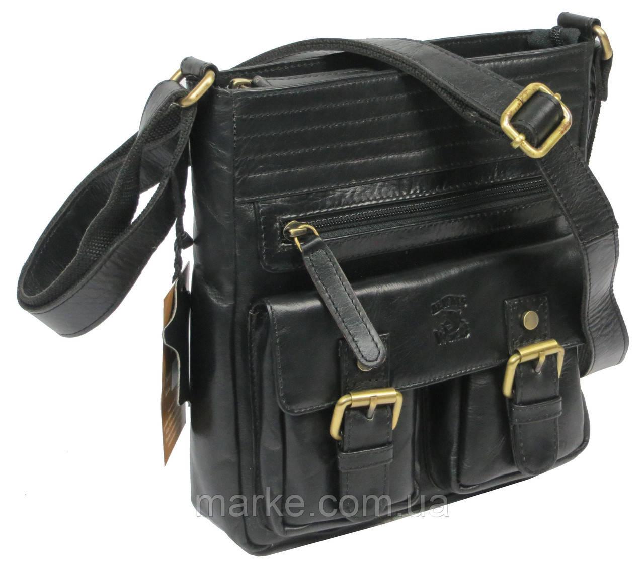 5055b82ff3e5 Мужская кожаная сумка Always Wild C48.0525 черная: продажа, цена в ...