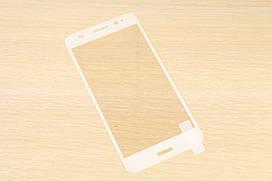 Защитное стекло Silk Screen для Huawei Y3 2017 тех.пакет (White)