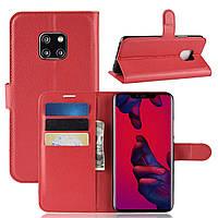 Чехол-книжка Litchie Wallet для Huawei Mate 20 Pro Красный