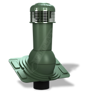 Вентвихід Wirplast УНІВЕРСАЛ ПЛЮС DN 125 з відводом конденсату, фото 1