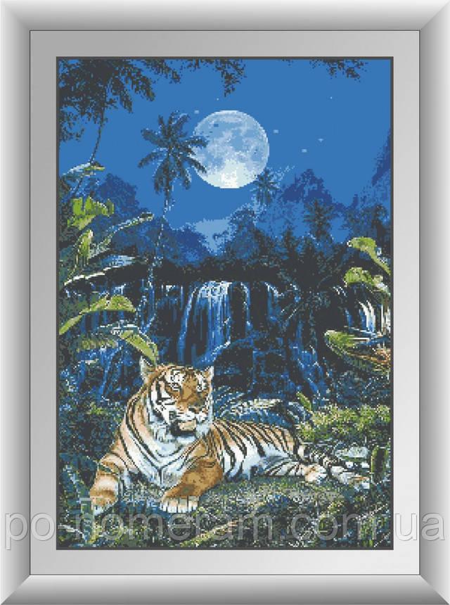 самая большая алмазная вышивка тигра в Украине