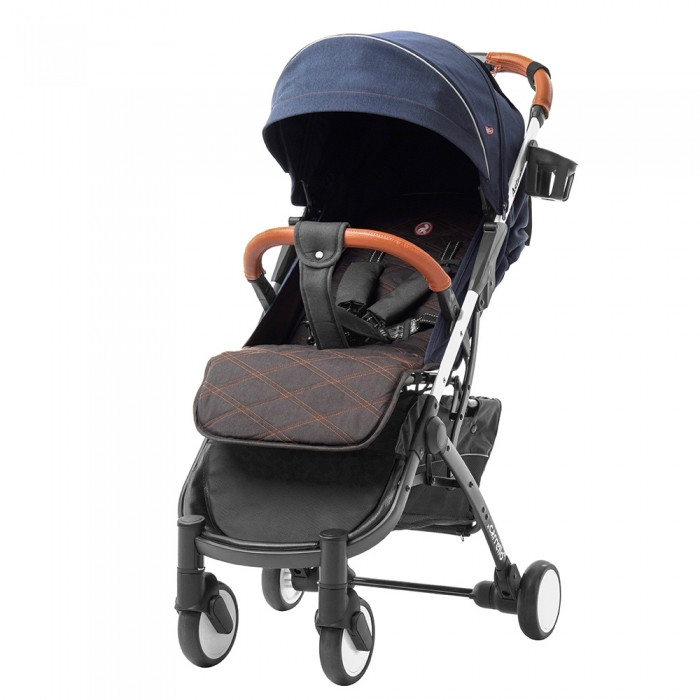 Прогулочная коляска CARRELLO Astra /Ocean Blue +дождевик S