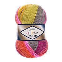Alize ANGORA REAL 40 Batik № 4834, фото 1