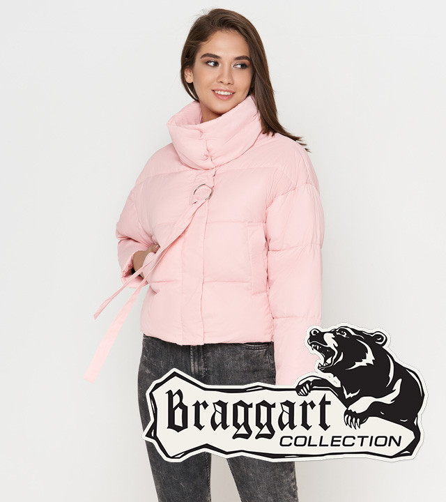 Braggart Youth   Женская куртка на осень-весну 25233 пудра