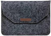 Папка конверт Felt sleeve bag для MacBook 13.3'' dark gray