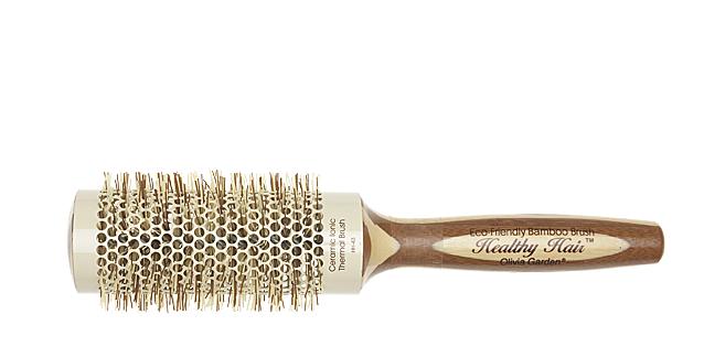 Термобрашинг бамбуковий для укладання волосся 43мм
