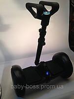 """Гироскутер з телескопічною ручкою, гироборд SNS M1Robot mini PRO. Колеса-10,5"""". Чорний, білий. Гарантія!"""