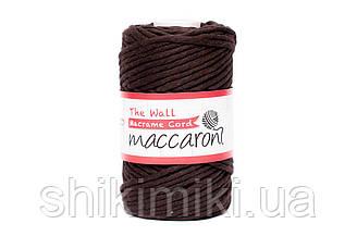 Эко шнур Macrame Cord 3 mm, цвет Шоколадный