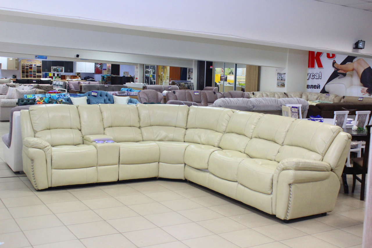Угловой диван с раскладным механизмом