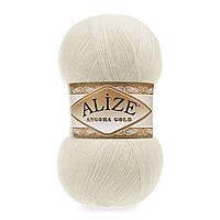 Alize ANGORA GOLD  кремовый №01
