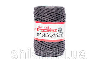Эко шнур Macrame Cord 3 mm, цвет Графитовый
