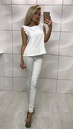 Белая летняя блузка, фото 2