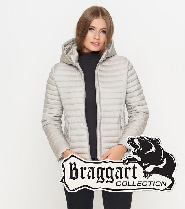 Braggart Youth   Женская куртка осенняя 1862 светло-серая