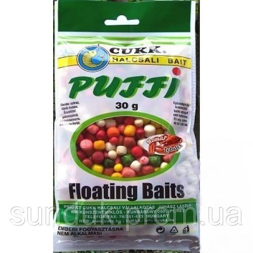 Воздушное тесто Cukk Puffi mix (речной рак) 3-6-8-10мм