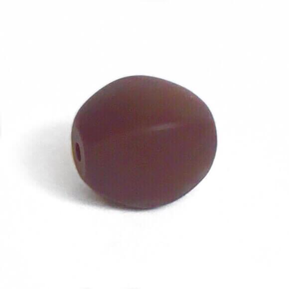 Оливка (коричневая) силиконовые бусины
