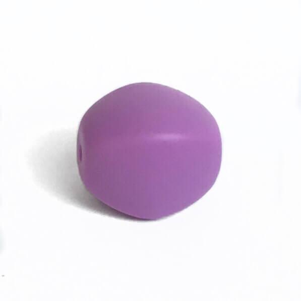 Оливка (сирень) силиконовые бусины