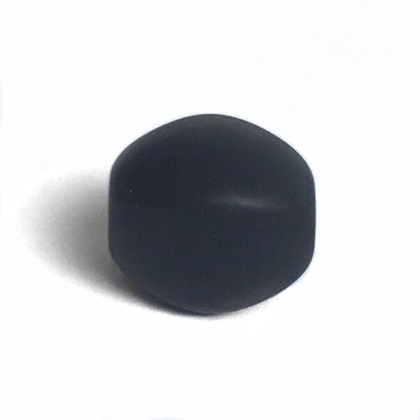 Оливка (черный) силиконовые бусины