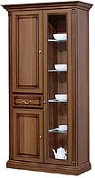 """Шкаф с витриной из комплекта для гостиной Скай """"NABUCCO / НАБУККО"""""""