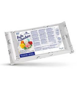 Цукрова паста для моделювання біла / Сахарная паста белая, 1 кг, 8 шт в коробке