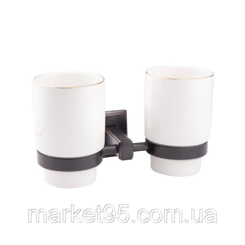 GF Italy (BLB)/S - 2608 подвійний склянку настінний