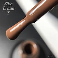 Гель лак Elise Braun № 006, 15 м7