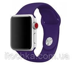 Ремешок Apple Sport Band for Apple Watch 42mm/44mm Purpl