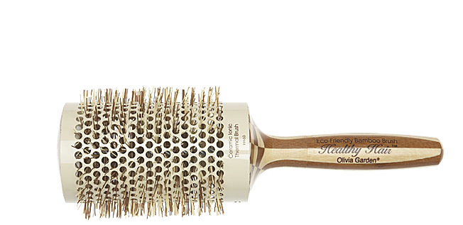 Термобрашинг бамбуковий для укладання волосся 63мм