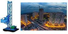 Н-75 м, г/п 2000 кг, 2 т. Подъёмник Строительный Грузовой Мачтовый Секционный для строительных работ., фото 2