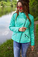 Короткая женская куртка косуха Венисуэлла р-р 42,  Новая коллекция весна TM NUI VERY