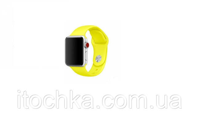 Ремешок Apple Sport Band for Apple Watch 42mm/44mm Yellow