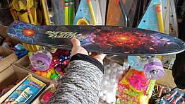 Скейт Penny board дека-55см со светящимися колесами F 5490
