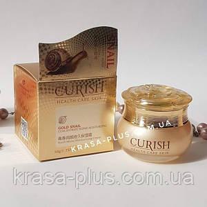 Увлажняющий улиточный крем для лица  Gold Snail Curish 50 г