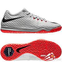 Футзалки Nike HypervenomX Finale II IC Gray/Black/Red