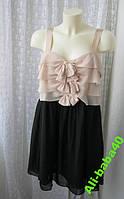 Платье женское коктейльное нарядное модное мини бренд H&M р.44