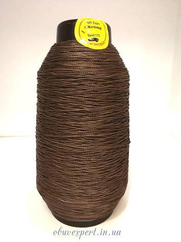 Нить обувная капроновая Ткач 0,75 мм (текс 375), цв. коричневый, 300 гр, фото 2